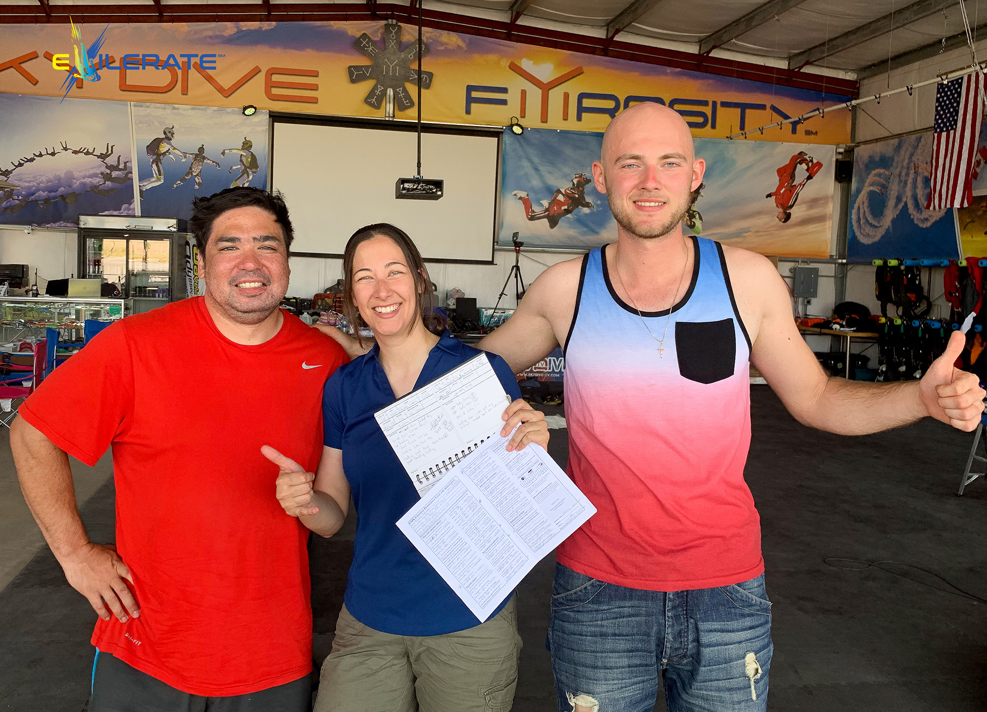 las vegas skydiving school